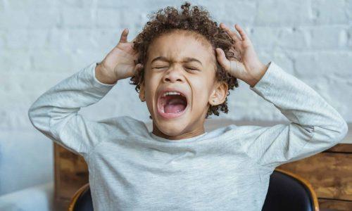 child outbursts tantrums